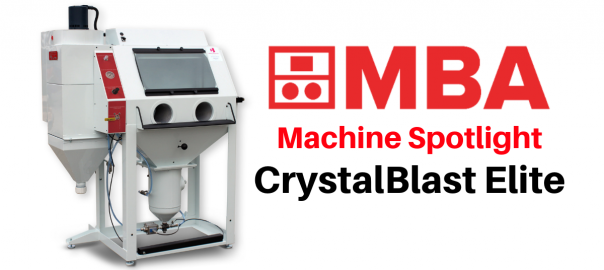 CrystalBlast Elite machine spotlight