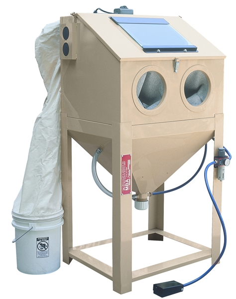 Space Saver HD sand blast cabinet